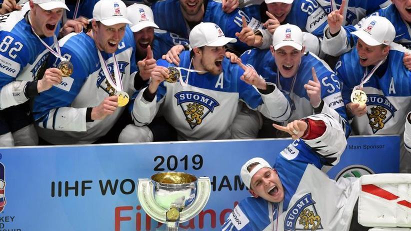 Finalsieg gegen Kanada: Finnland feiert nach Titel bei Eishockey-WM seine Underdogs