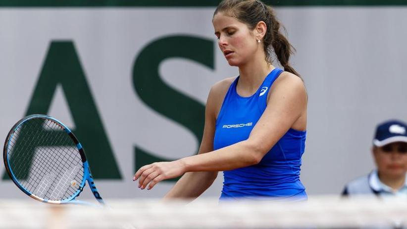 Grand-Slam-Turnier in Paris: Nach Kerber auch Görges bei French Open schon ausgeschieden
