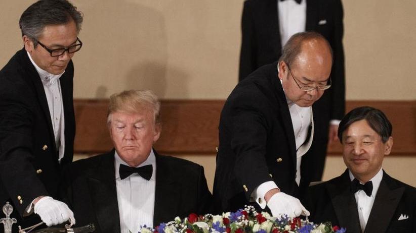 Staatsbesuch in Japan: US-Präsident Trump will keinen Regimewechsel im Iran