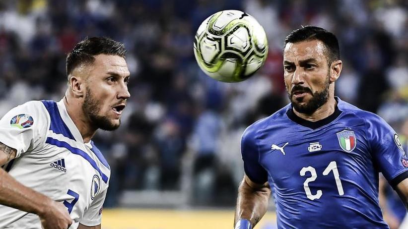 EM-Qualifikation: 2:1 gegen Bosnien: Italien auf Kurs 2020