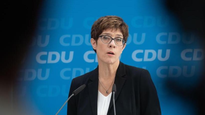 Werte-Union fordert Urwahl: Brinkhaus: AKK wird nächste Unions-Kanzlerkandidatin