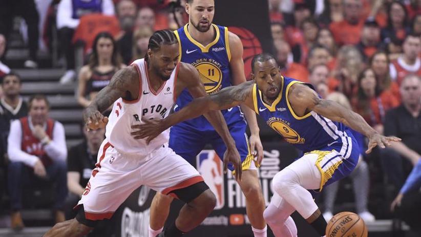 Basketball-Playoffs: Golden State verkürzt im NBA-Finale gegen Toronto auf 2:3