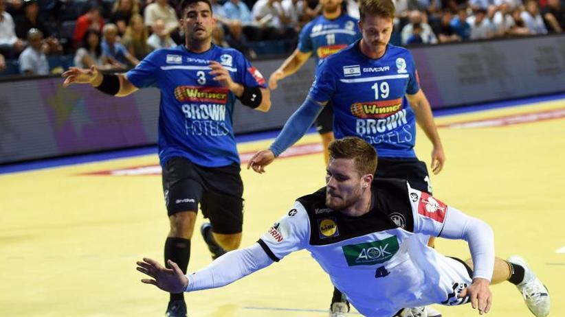 EM-Qualifikation: Deutsche Handballer feiern Schützenfest in Israel