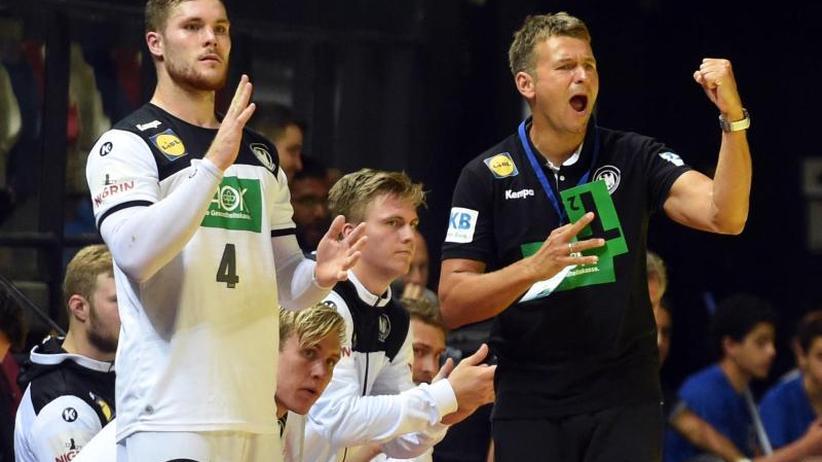 Handball-Nationalmannschaft: Gelungener Debütanten-Ball: Klimpke hält, Büdel trifft