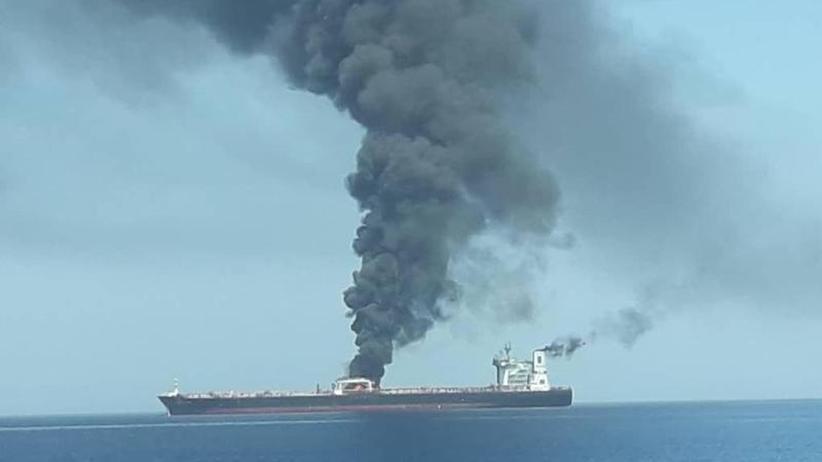 US-Marine erhält Notrufe: Vor Irans Küste - Tanker von deutscher Reederei in Not