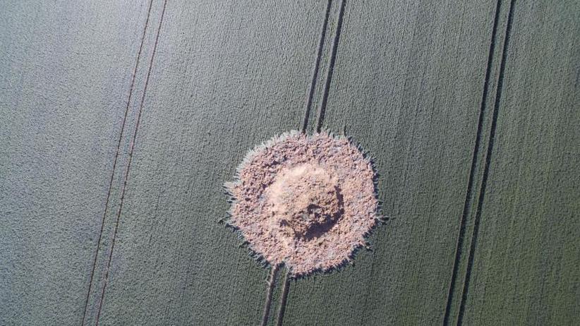 Anwohner entdecken Krater: Weltkriegsbombe explodiert auf Feld in Limburg von selbst