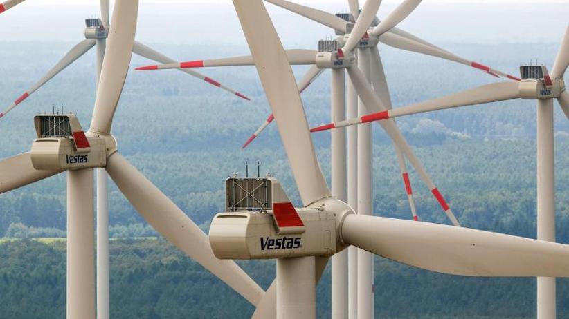 Vor allem Windräder: 44 Prozent: Ökostrom-Rekord im ersten Halbjahr 2019