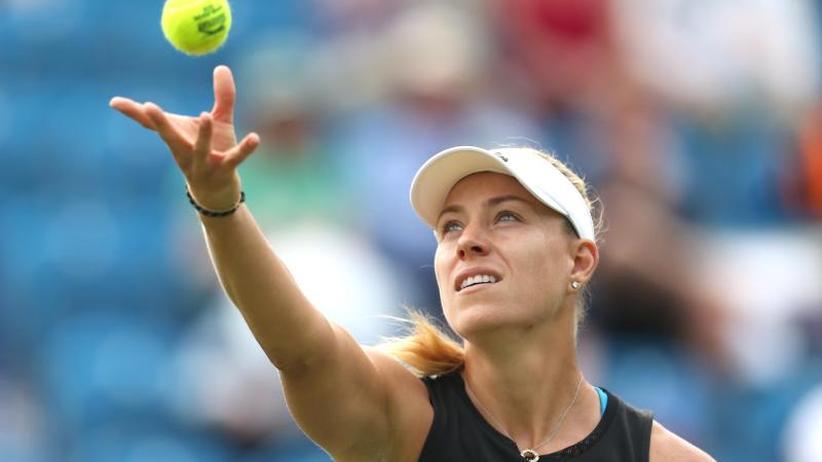 WTA-Turnier: Angelique Kerber in Eastbourne im Viertelfinale
