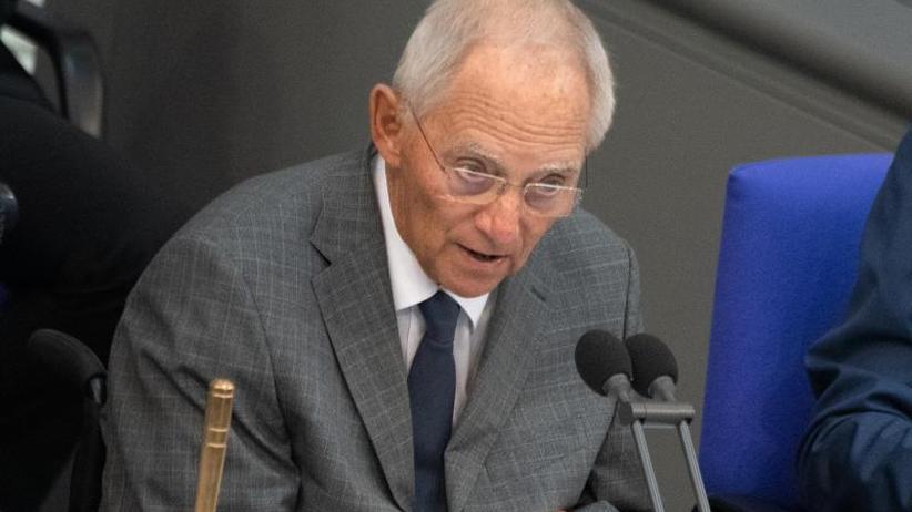 Machtmonopol anwenden: Fall Lübcke: Schäuble verlangt Reaktion des Rechtsstaates