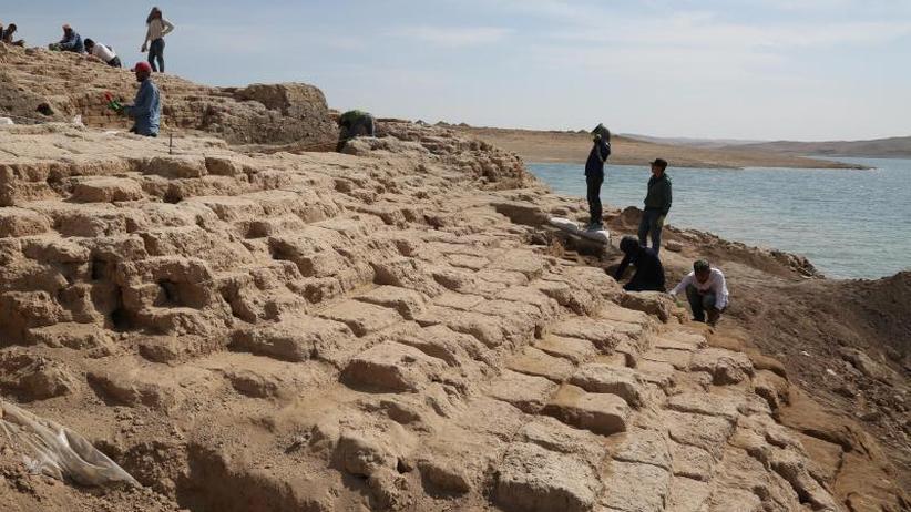 Gegen die Zeit gearbeitet: Archäologen entdecken im Irak alten Palast