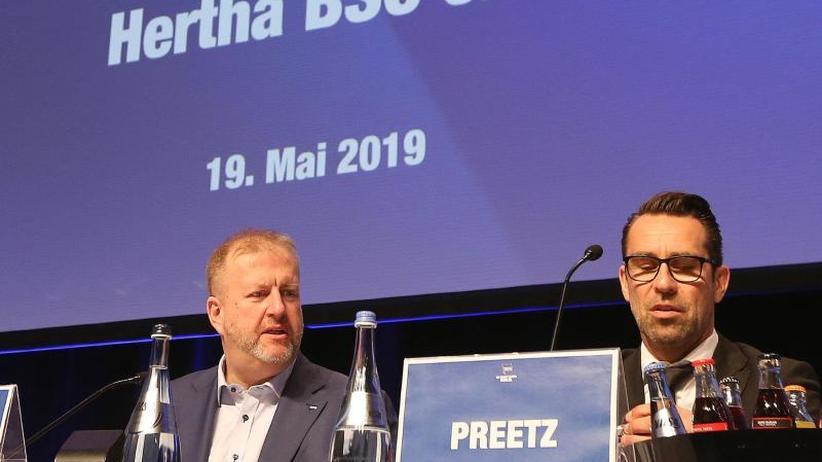 """Windhorst steigt ein: """"Spiegel"""": Hertha bekommt minimum 125 Millionen von Investor"""