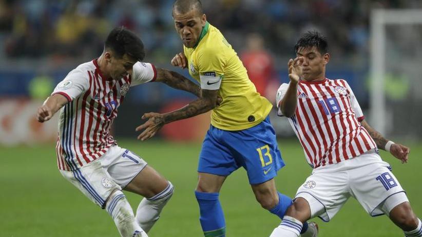 Copa América: Brasilien rettet sich mit Elfmeterschießen ins Halbfinale