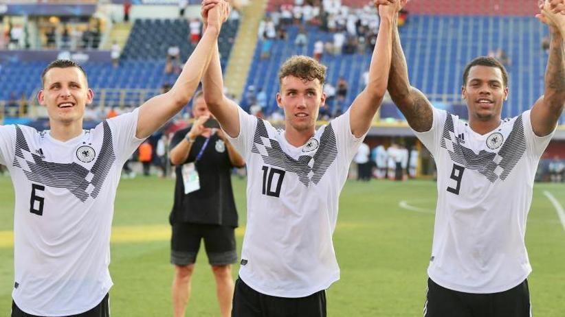 """Freiburger U21-Stürmer: """"Einfach geil"""": Waldschmidt jagt U21-Torrekord"""