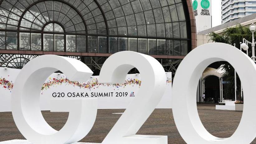 Handel, Klima, Golf-Krise: Konfliktbeladener G20-Gipfel beginnt