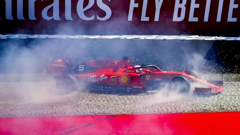 Formel 1 in Österreich: Vettel mit Glück - Bottas und Verstappen zerlegen Autos