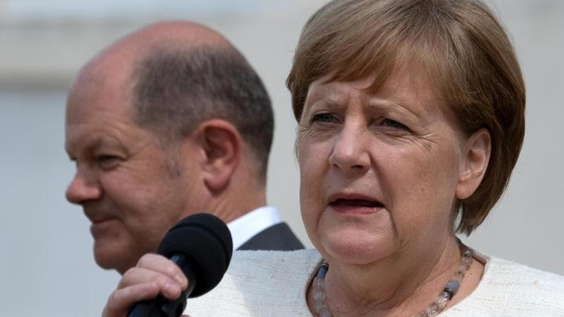 Emnid Umfrage Deutsche Geben Der Bundesregierung Kein