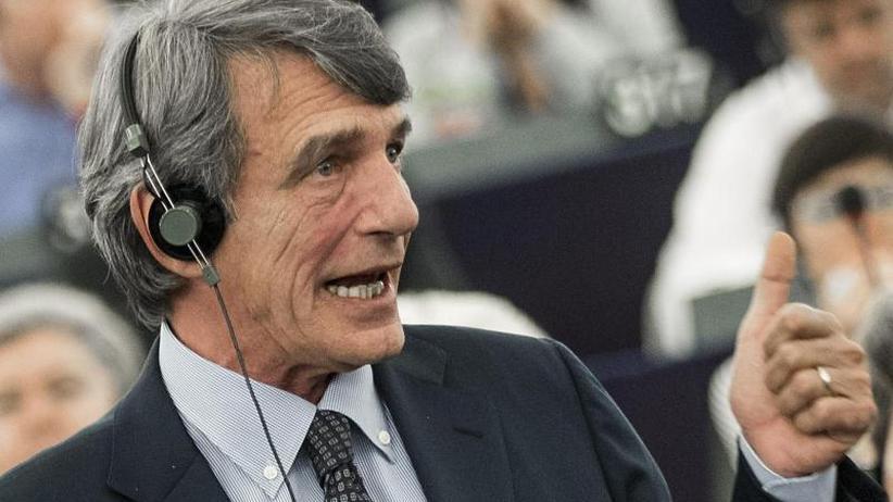 Porträt: David-Maria Sassoli: Aus dem TV zum EU-Parlamentspräsidenten