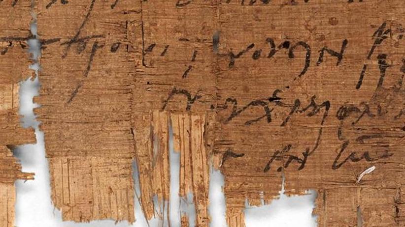 Papyrus zeigt Alltagsleben: Ältester bekannter christlicher Privatbrief identifiziert