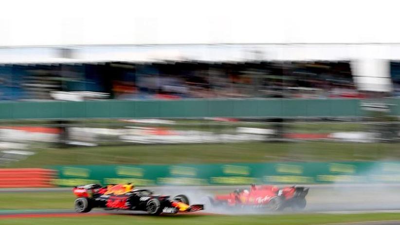 Grand Prix von Großbritannien: Vettel-Tiefpunkt nach Brachial-Manöver - Hamilton gewinnt