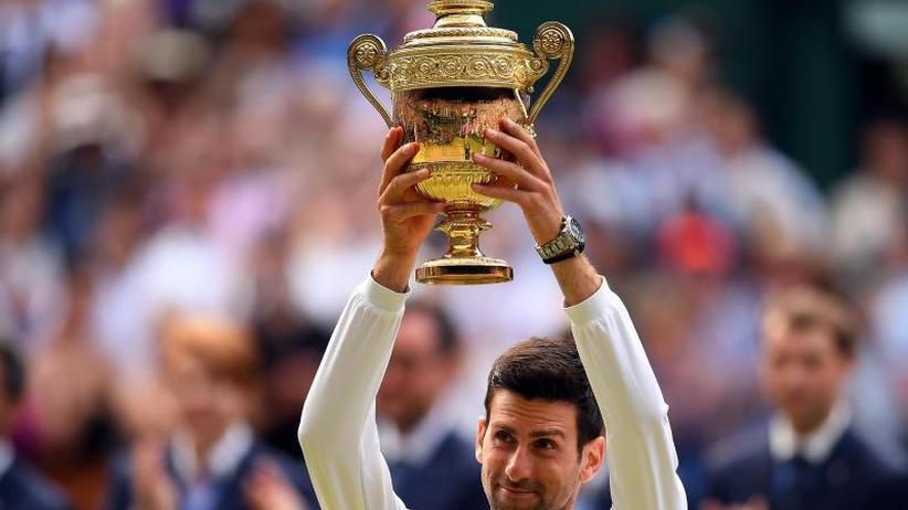 Nach 4:57 Stunden: Djokovic siegt im längsten Wimbledon-Finale gegen Federer