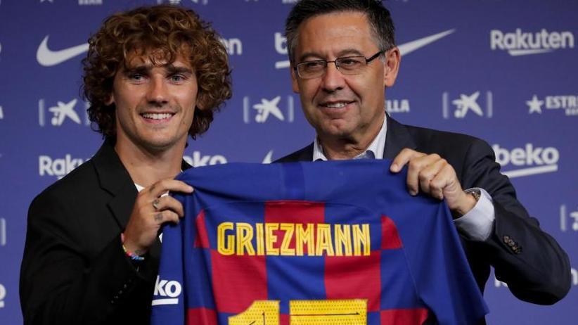Nach Transfer-Hickhack: Star-Stürmer Griezmann will mit Barça alles gewinnen