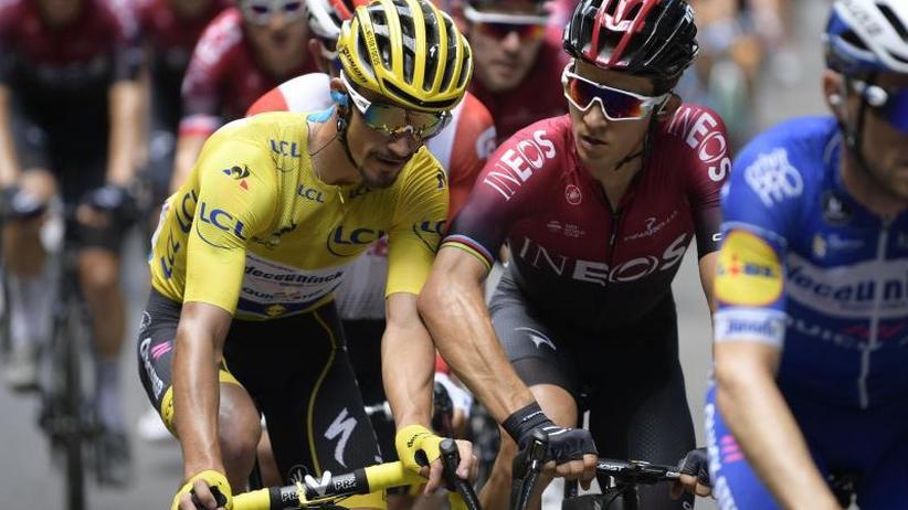 106. Tour de France: Frankreich feiert Alaphilippe -Martin nicht belohnt