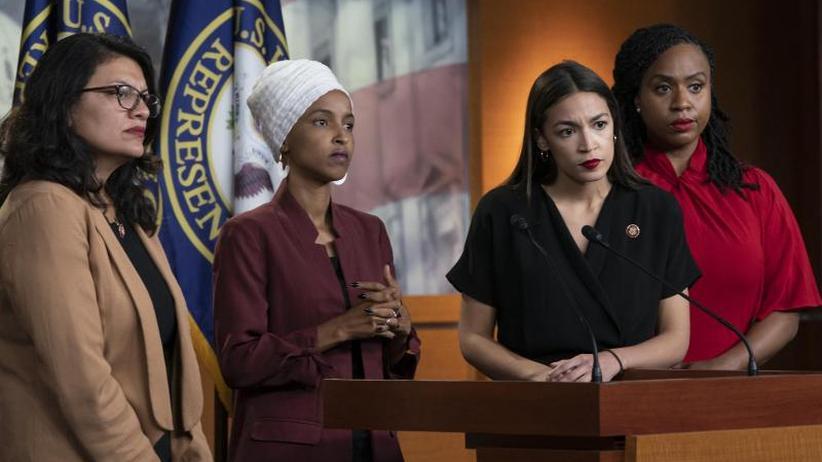 Rassismusvorwürfe: Demokratinnen wehren sich gegen Trumps Attacken