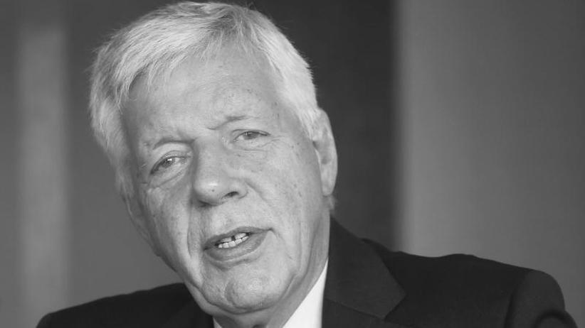 Nach Krebskrankheit: Ex-Wirtschaftsminister Werner Müller gestorben