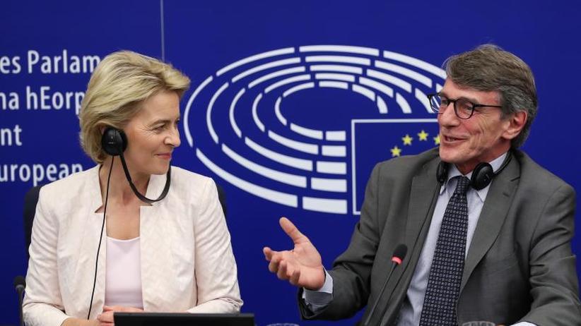 Start am 1. November: EU-Parlamentspräsident: Von der Leyen soll Tempo machen