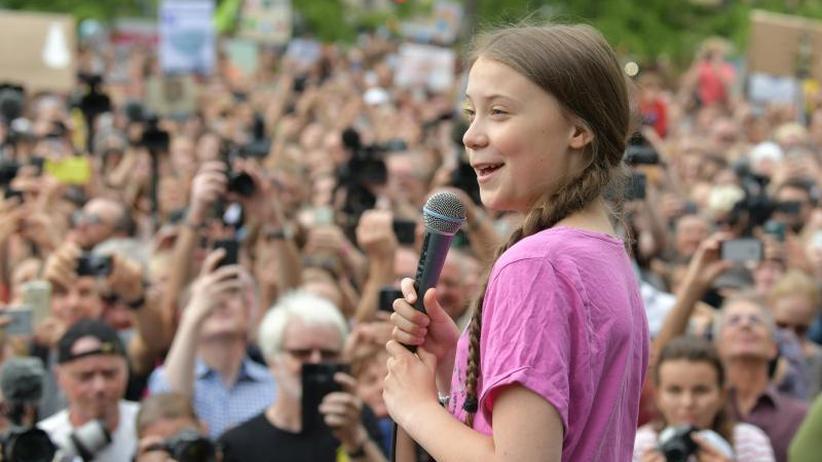 """""""Wir werden nie aufhören"""": Thunberg ermutigt Klimaprotestler in Berlin"""