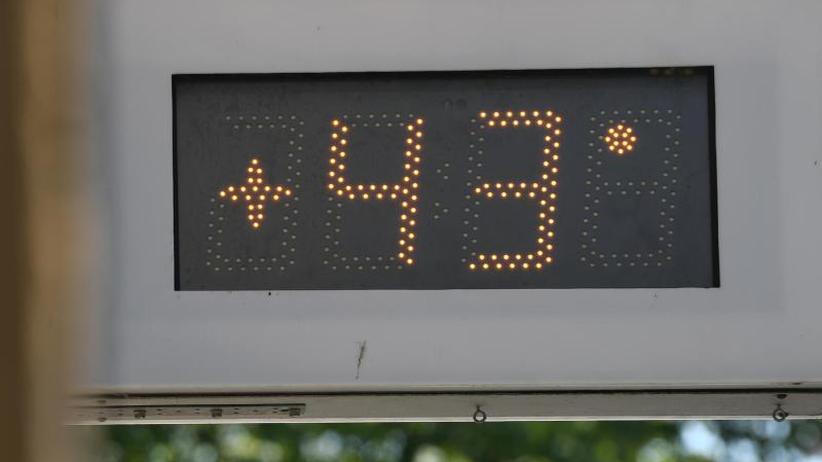Nach neuem Hitzerekord: Forscher:Hitzewellen durch Klimawandel wahrscheinlicher