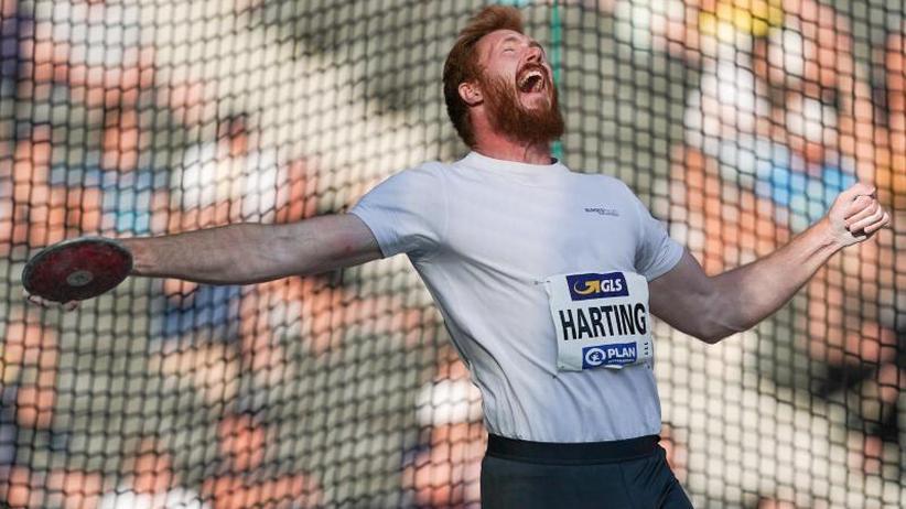 Titelkämpfe in Doha: Denkzettel für Olympiasieger:Harting fehlt im WM-Aufgebot