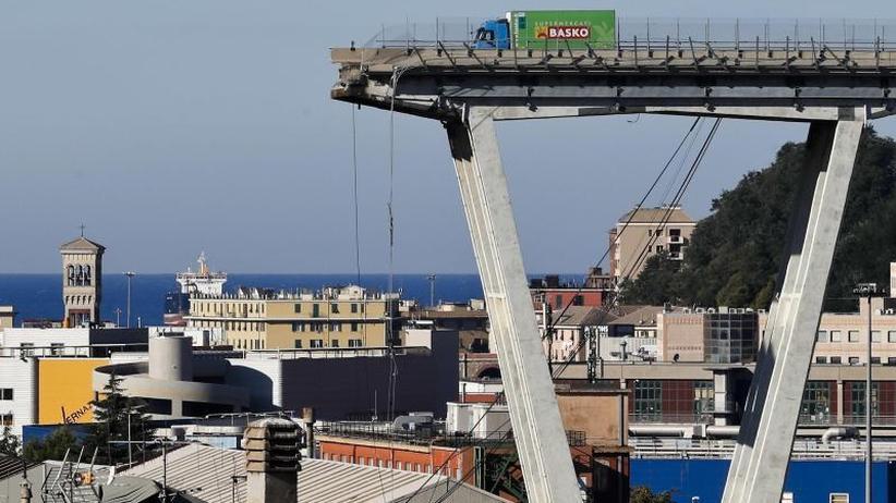 """Jahrestag der Katastrophe: Genua erinnert an """"Apokalypse"""""""