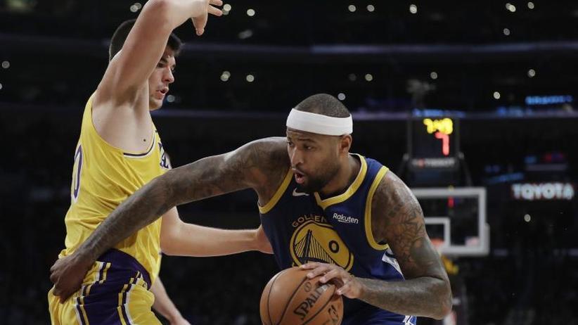 Basketball-Star: Agent: NBA-Center Cousins fällt nach Kreuzbandriss lange aus