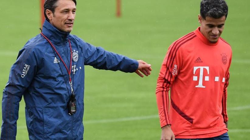 FCBayern München: Coutinho nicht in Startelf - Goretzka und Boateng fallen aus