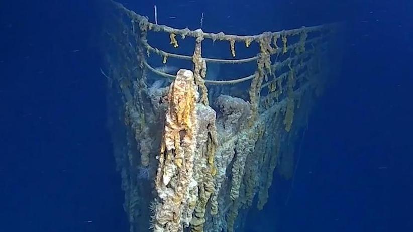 Ganzes Deck bricht zusammen: Neue Aufnahmen zeigen Verfall des Titanic-Wracks