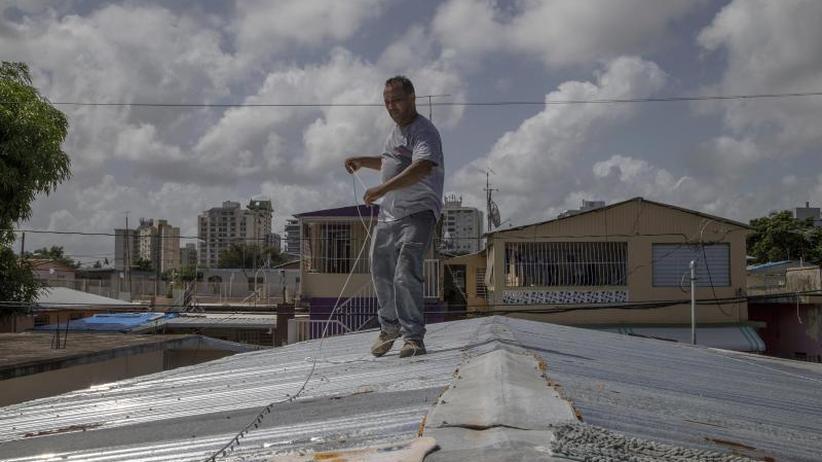 """Notstand wegen """"Dorian"""": Tropensturm steuert auf Puerto Rico und Florida zu"""