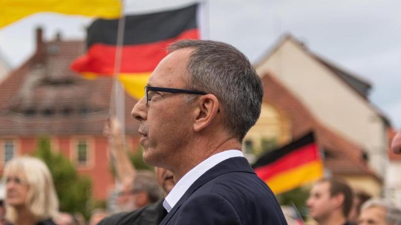 """Landtagswahl am Sonntag: AfD-Chef in Sachsen: """"Wollen stärkste Kraft werden"""""""