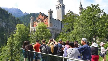 Jubilaum 150 Jahre Schloss Neuschwanstein Zeit Online