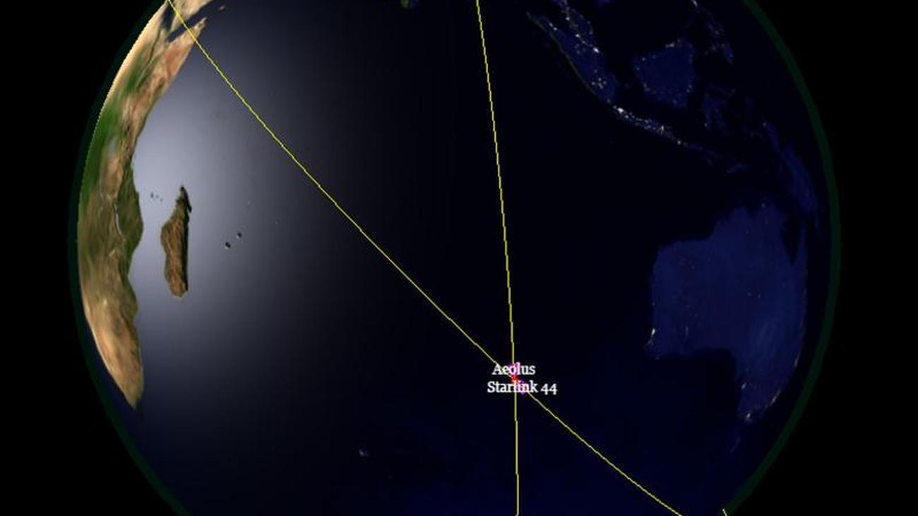 spacex satelliten