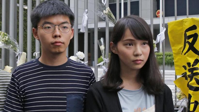 Student besucht Berlin: Hongkonger Aktivist Joshua Wong auf dem Weg nach Deutschland