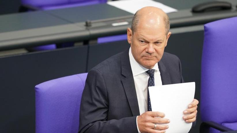 Haushaltsdebatte im Bundestag: Scholz: Regierung für mögliche Wirtschaftskrise gewappnet