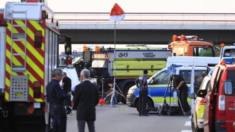 Bei Berlin: Polizei erschießt mutmaßlichen Straftäter auf der Autobahn