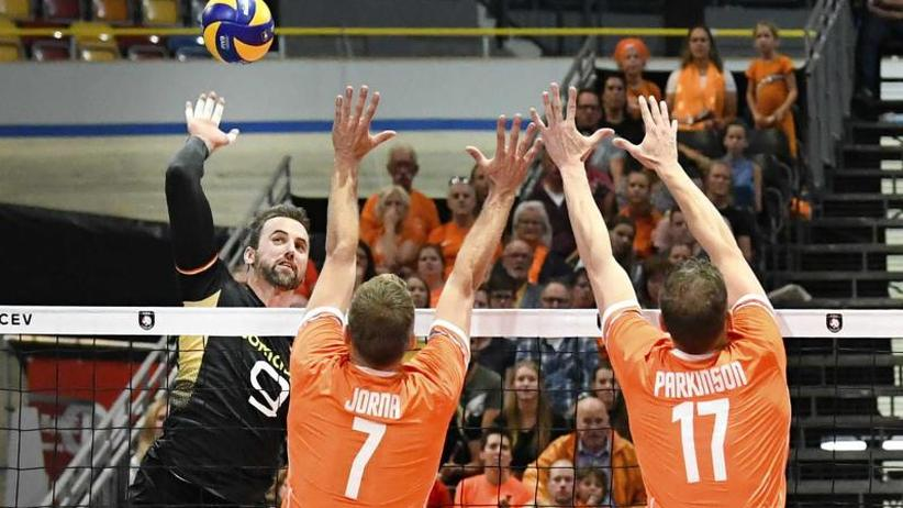 Deutsche Volleyballer im EM-Viertelfinale