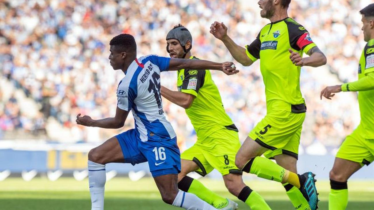Bundesliga: Hertha celebrates first win of the season