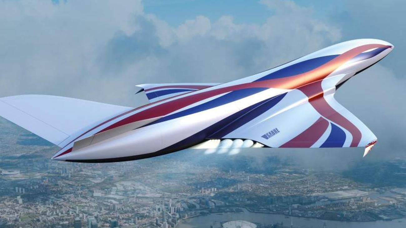 Fliegen mit Mach 5: Britische Raumfahrtagentur will Überschallflugzeug bauen