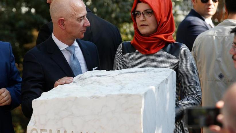 Jahrestag der Ermordung: Angehörige und Aktivisten erinnern in Istanbul an Khashoggi