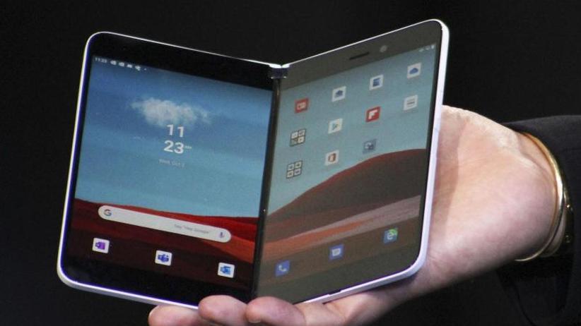 Laptops und Smartphones: Microsoft zeigt neue Geräte mit Doppel-Display