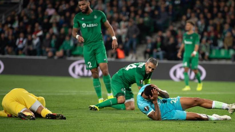 """Europa League: Wolfsburgs """"hart erkämpfter Punkt"""""""