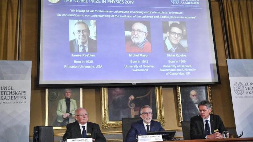 Entdeckung von Exoplaneten: Physik-Nobelpreis für drei Erforscher des Kosmos